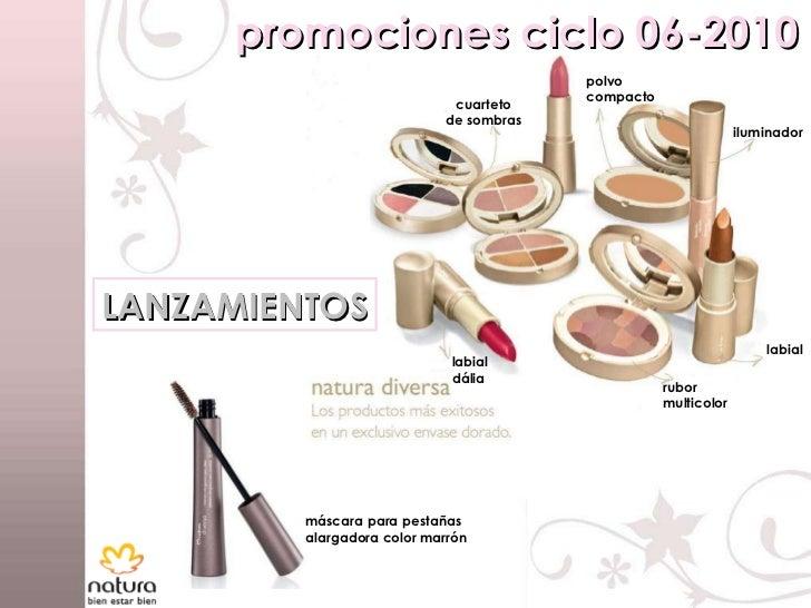 promociones ciclo 06-2010 LANZAMIENTOS cuarteto de sombras polvo compacto iluminador labial dália rubor multicolor labial ...