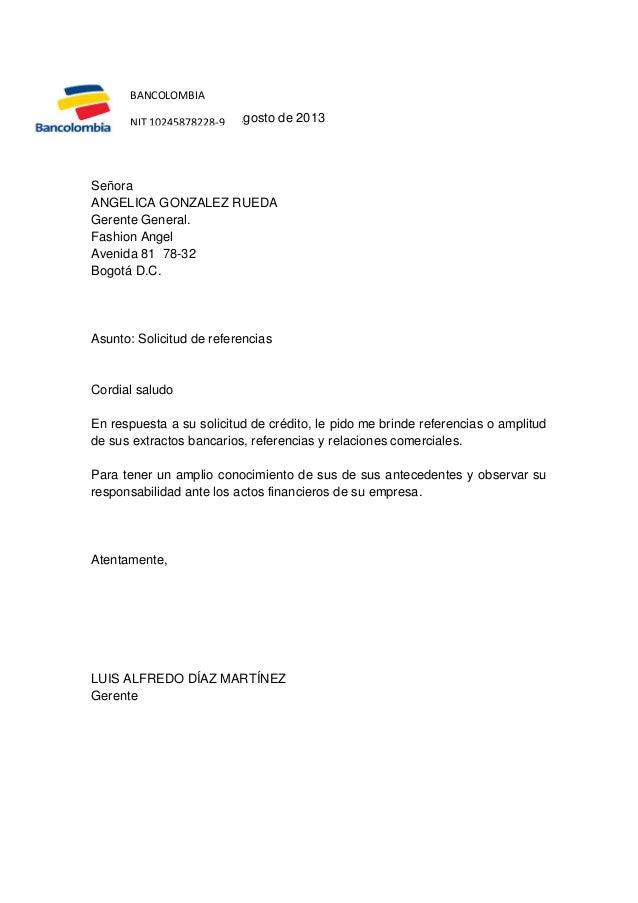 Ciclo de credito for Solicitud de chequera