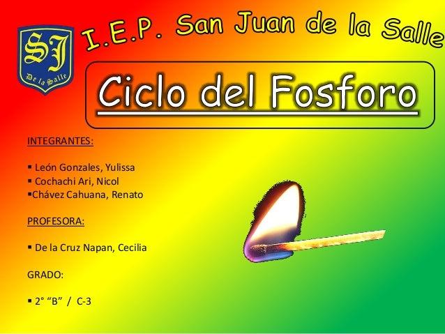 INTEGRANTES:   León Gonzales, Yulissa   Cochachi Ari, Nicol  Chávez Cahuana, Renato  PROFESORA:   De la Cruz Napan, Ce...
