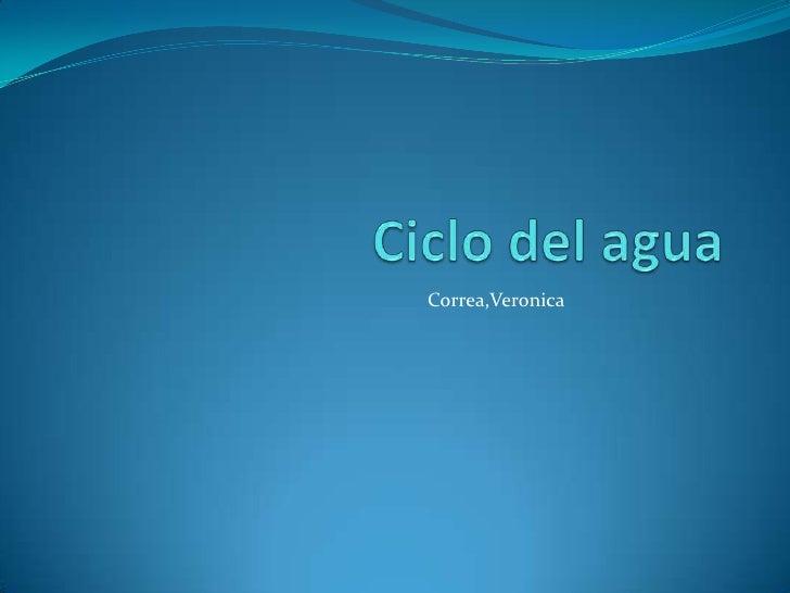 Correa,Veronica