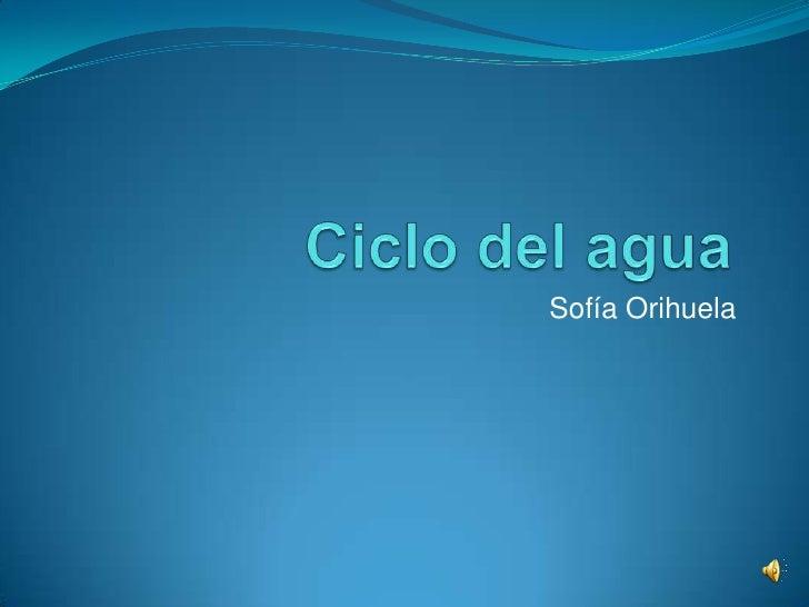 Sofía Orihuela