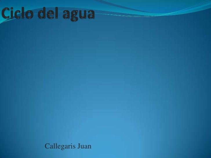Callegaris Juan