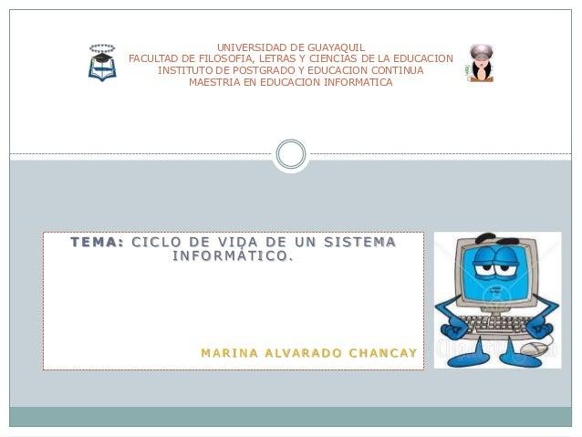 UNIVERSIDAD DE GUAYAQUIL FACULTAD DE FILOSOFIA, LETRAS Y CIENCIAS DE LA EDUCACION INSTITUTO DE POSTGRADO Y EDUCACION CONTI...