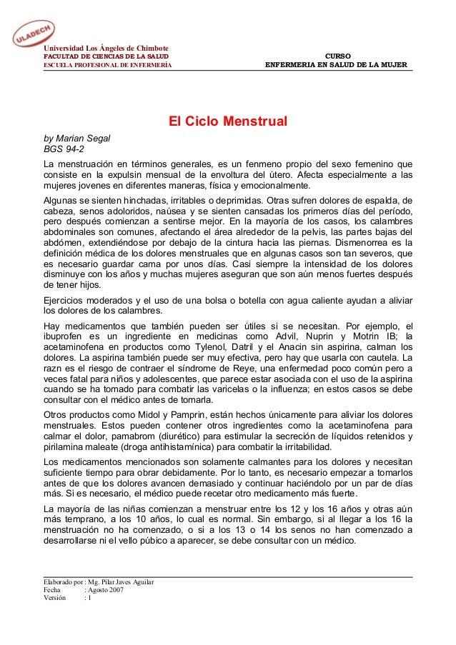 Universidad Los Ángeles de Chimbote FACULTAD DE CIENCIAS DE LA SALUD ESCUELA PROFESIONAL DE ENFERMERÍA  CURSO ENFERMERIA E...