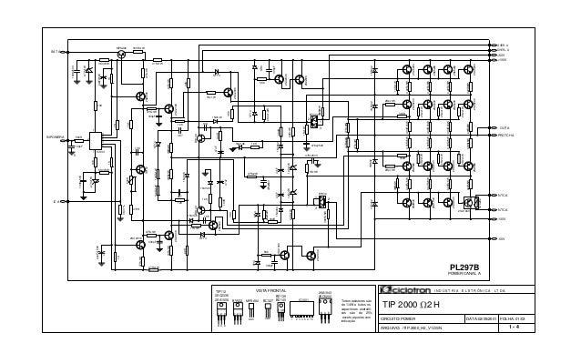 FOLHA: 01/03 TIP 2000 2 H BC327 BD139 BD140 Todos resistores são de 1/4W e todos os capacitores eletrolíti- cos são de 25V...