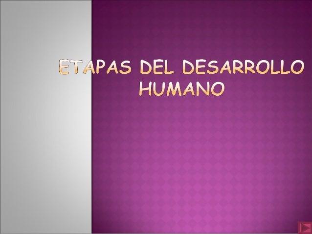 OBJETIVO: Reconoce las etapas del desarrollo humano ya que en cada persona influyen diversos factores.