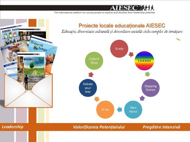 Proiecte locale educaţionale AIESEC                                      Grady                     Culture                ...