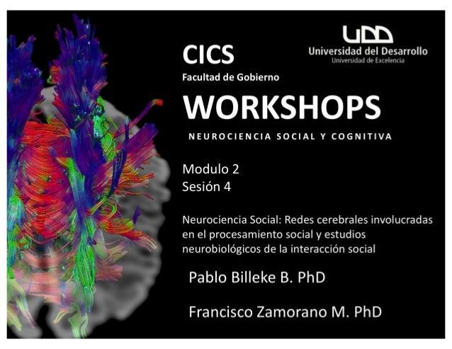 Workshop Neurociencia Social Facultad de Gobierno_CICS_UDD