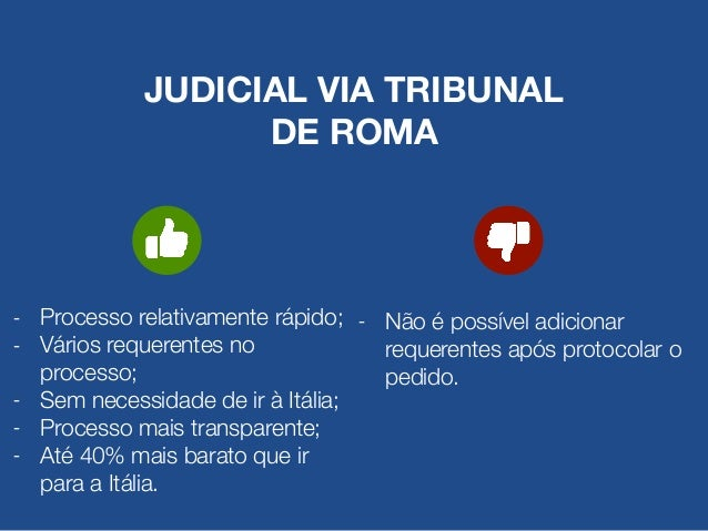 2. REUNIÃO DAS CERTIDÕES É necessário reunir todas as certidões de registro civil de cada pessoa, a partir do(a) italiano(...