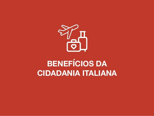 TIPOS DE PROCESSOS DE CIDADANIA ITALIANA