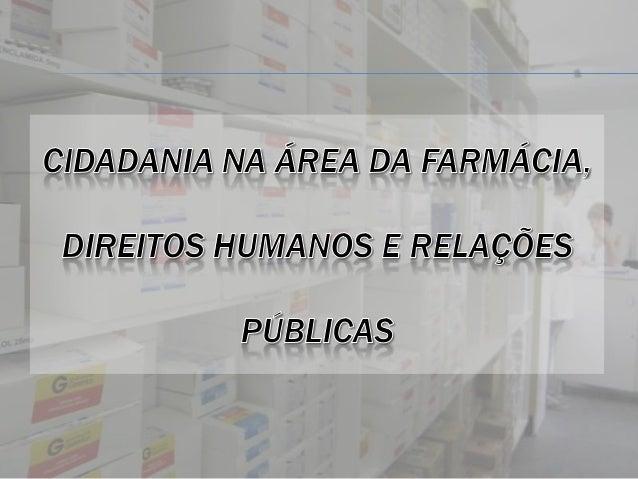 CÓDIGO DE ÉTICA FARMACÊUTICA