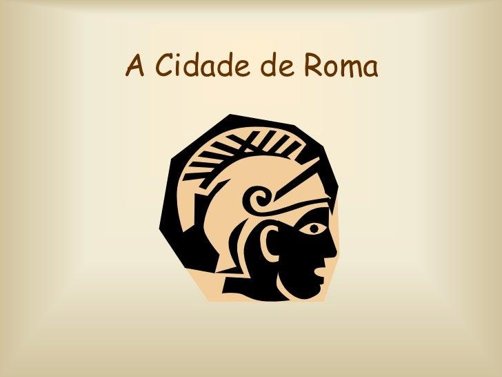 Cidade roma