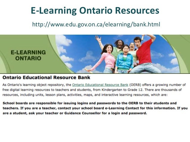 Resources for online programs? Ministries of Education  Rest of Canada X AB X BC