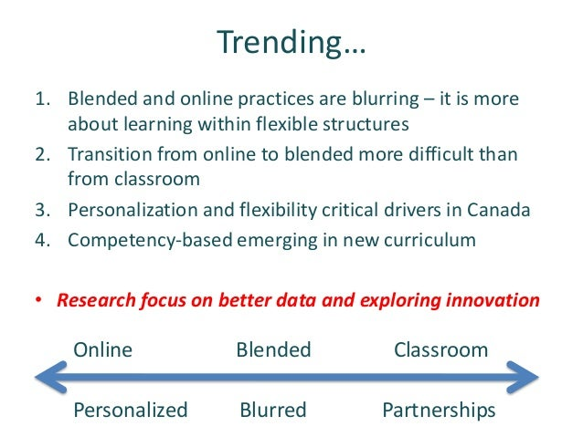 CIDER 2018 - State of the nation: K-12 e-learning in Canada