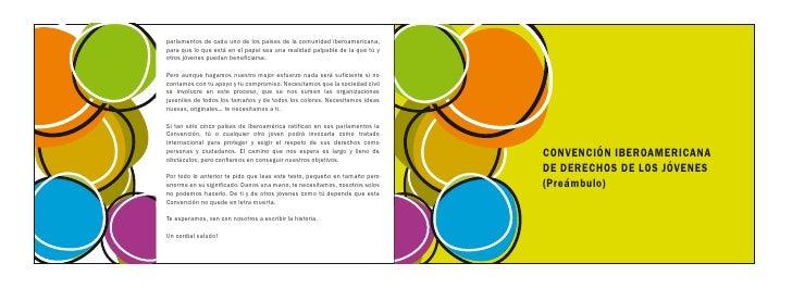 Convenci n iberoamericana de los derechos de los j venes for Derechos de los jovenes