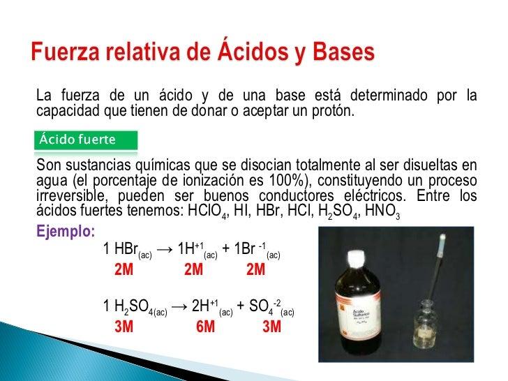 Teoria De Acidos Y Bases