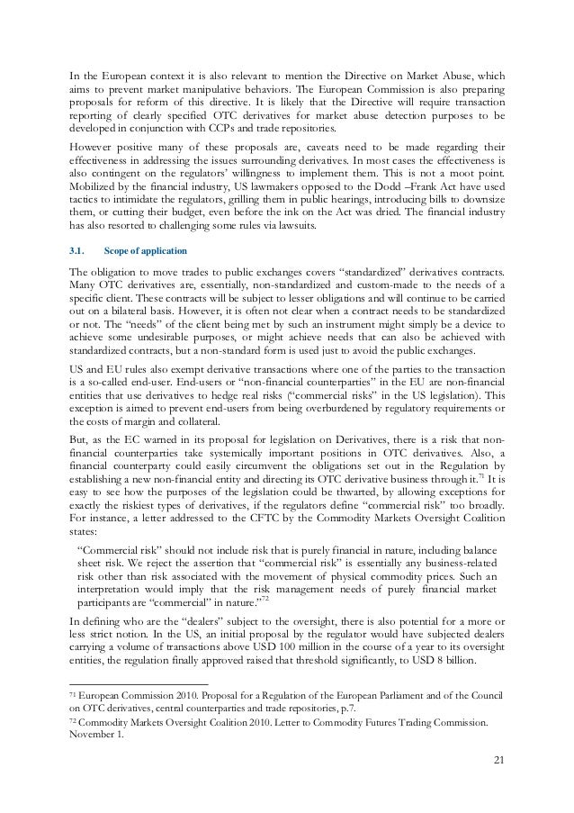 Compliance and Financial Regulation - Essay Example