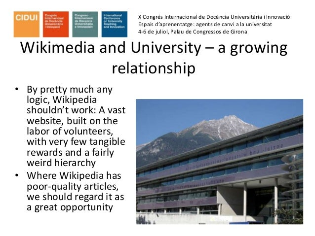 Wikispace, Open Science and Education Slide 3