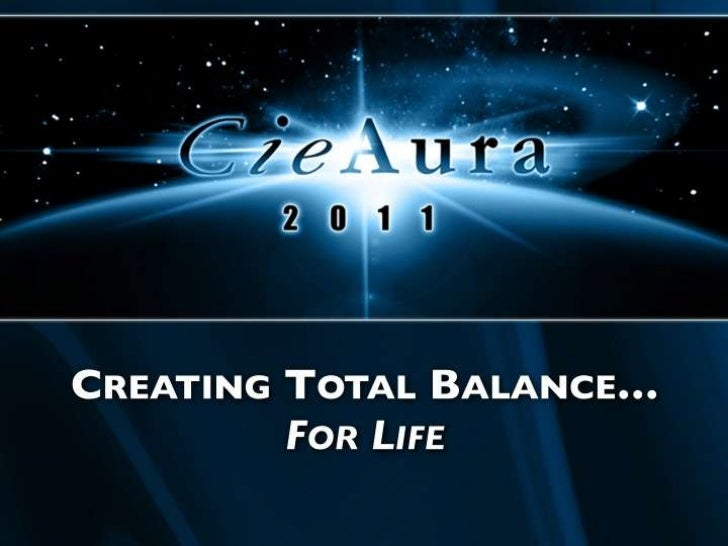 CREATING TOTAL BALANCE…<br />FOR LIFE<br />Creating Total Balance…<br />For Life<br />