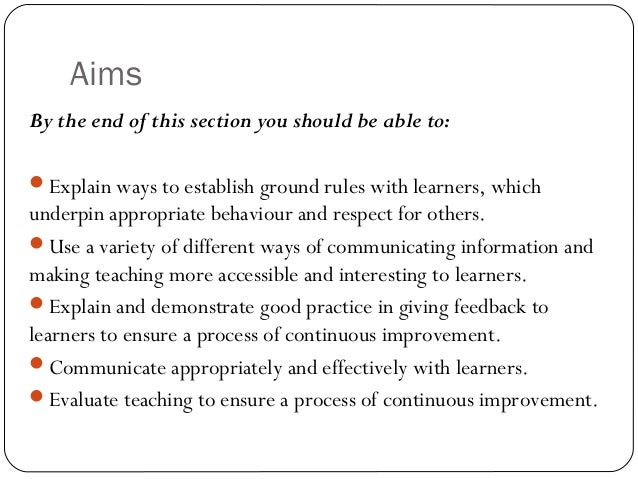 ptlls explain how to establish and You combine them together and create the concept of 'inclusive learning and  teaching' it is much harder to define this is because there is no single definition.