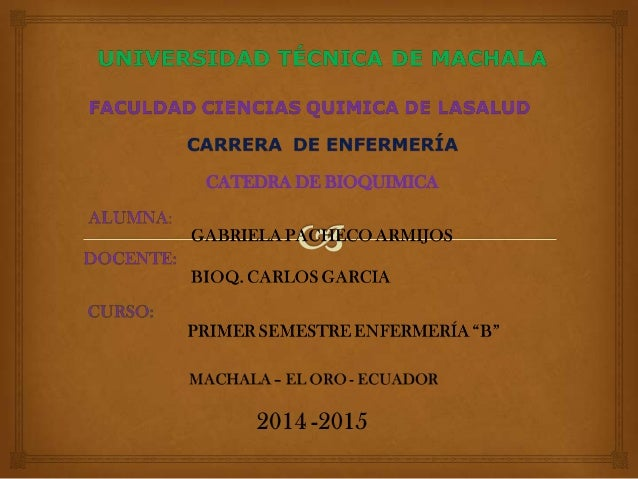 CATEDRA DE BIOQUIMICA