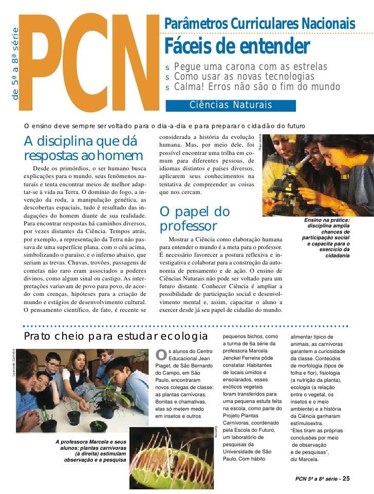 PCN                                                                           Parâmetros Curriculares Nacionaisde 5ª a 8ª ...