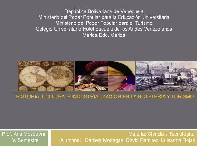República Bolivariana de Venezuela Ministerio del Poder Popular para la Educación Universitaria Ministerio del Poder Popul...