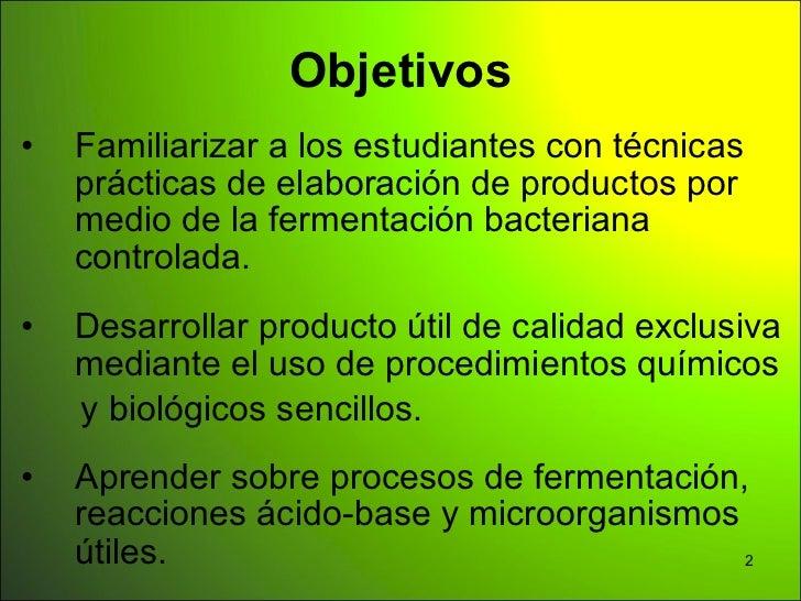 Ciencia aplicada a la conservacion de alimentos Slide 2