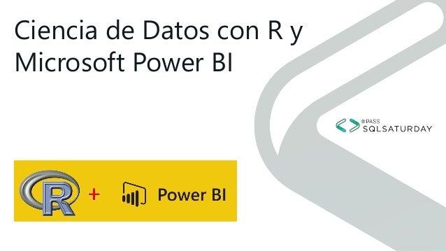 Ciencia de Datos con R y Microsoft Power BI