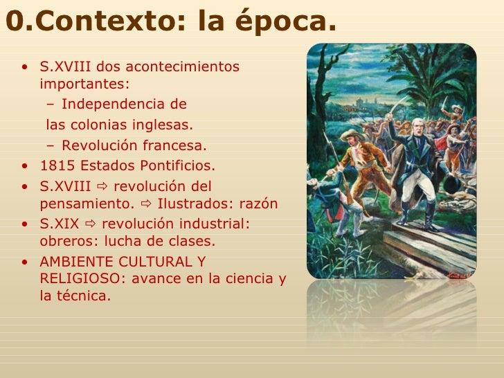 <ul><li>S.XVIII dos acontecimientos importantes: </li></ul><ul><ul><li>Independencia de </li></ul></ul><ul><ul><li>las col...