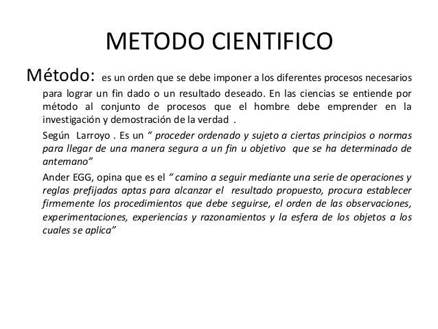 Ciencia metodo cientifico investigacion cientifica for En que consiste el metodo cientifico
