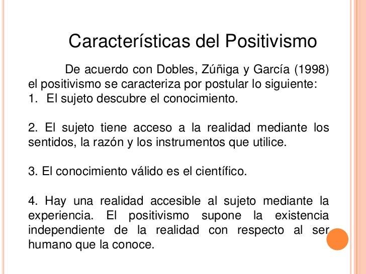 Resultado de imagen para positivismo cientifico
