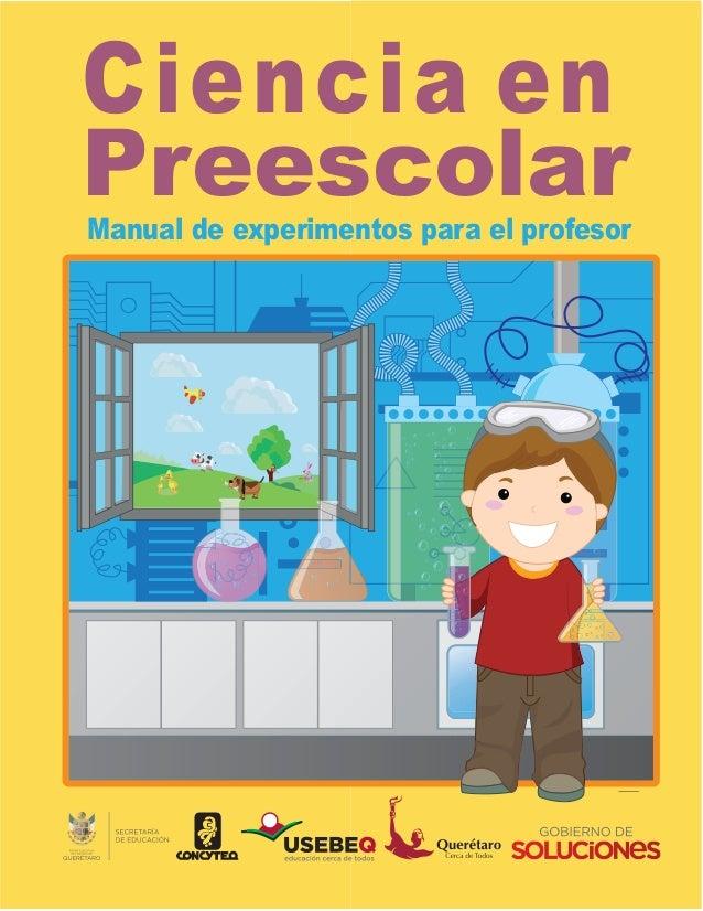 Ciencia enPreescolarManual de experimentos para el profesor