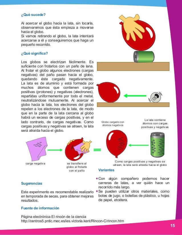 Ciencia Preescolar Manual De Experimentos - Experimentos-para-nios-con-globos