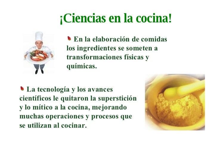 Ciencias de los alimentos i for La cocina de los alimentos pdf