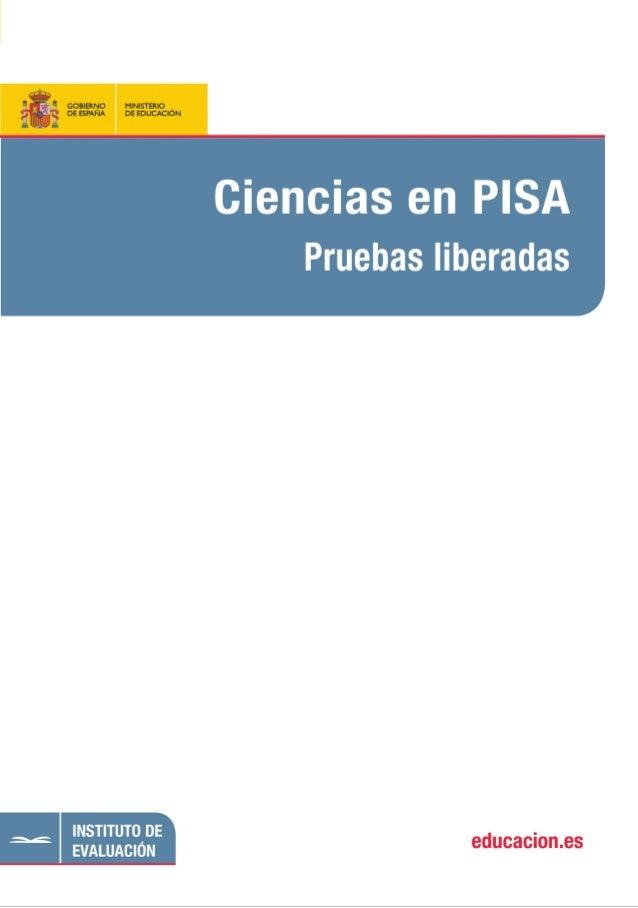 CIENCIAS EN PISA:Maquetación 1 24/08/2010 21:33 Página 1                                                           PISA-OC...