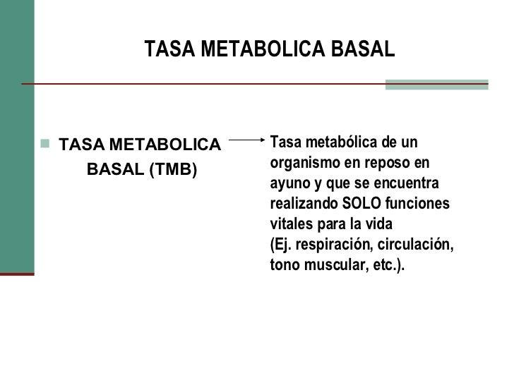 Calcular metabolismo basal porcentaje de grasa
