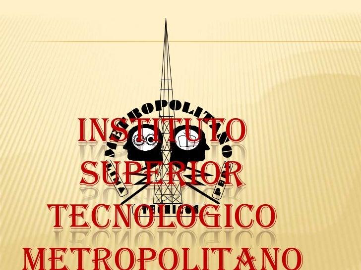 INSTITUTO  SUPERIORTECNOLOGICO