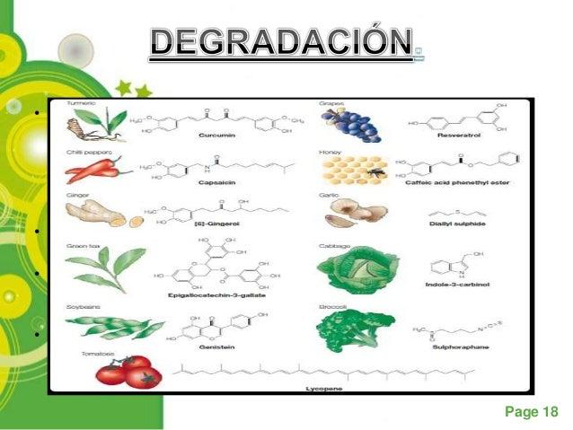 • La oxidación y subsiguiente desintegración de los carotenoides se  inicia en un extremo de la molécula, este no es un pr...