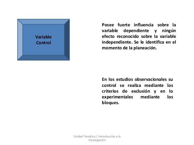 Posee fuerte influencia sobre la                                variable dependiente y ningúnVariable                     ...