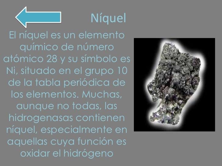 Ciencias f nquel el nquel es un elemento qumico urtaz Choice Image
