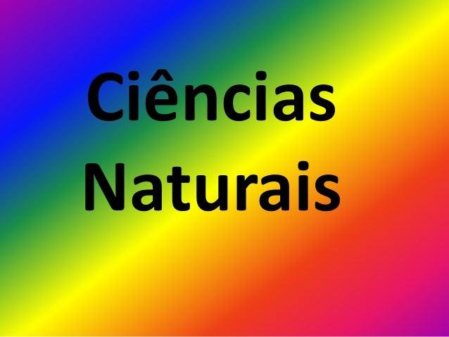 CiênciasNaturais