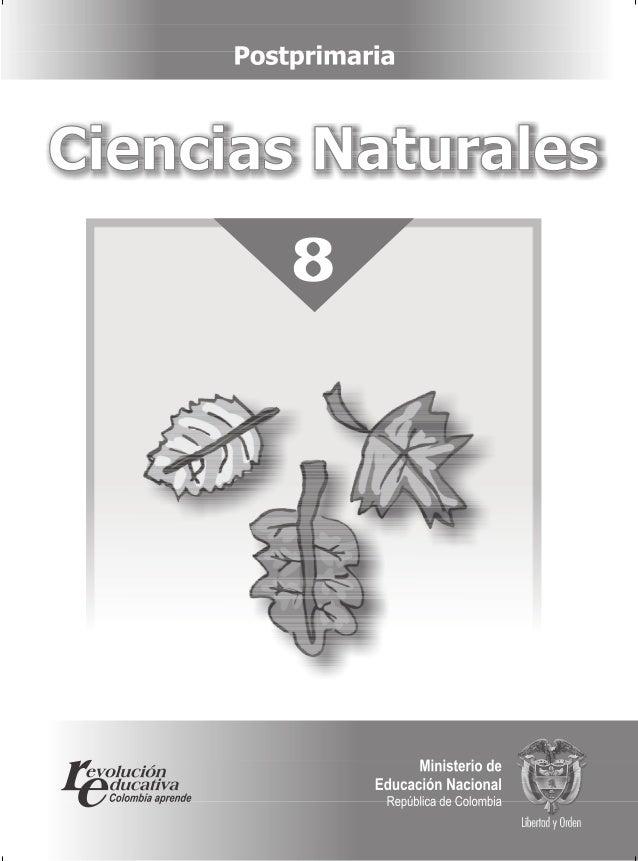 8 Ciencias NaturalesCiencias Naturales