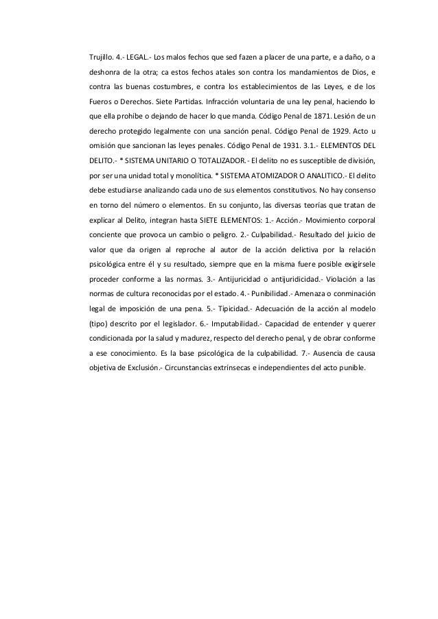 carranca y trujillo derecho penal mexicano pdf