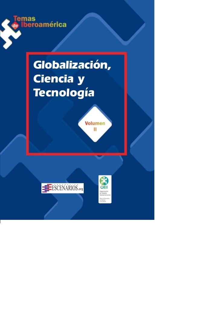 Globalización,Ciencia yTecnología