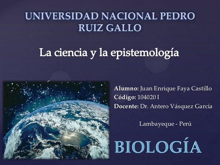{   Alumno: Juan Enrique Faya Castillo    Código: 104020 I    Docente: Dr. Antero Vásquez García            Lambayeque - P...
