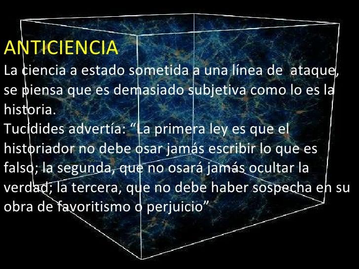 Ciencia Y Geopolitica 2003