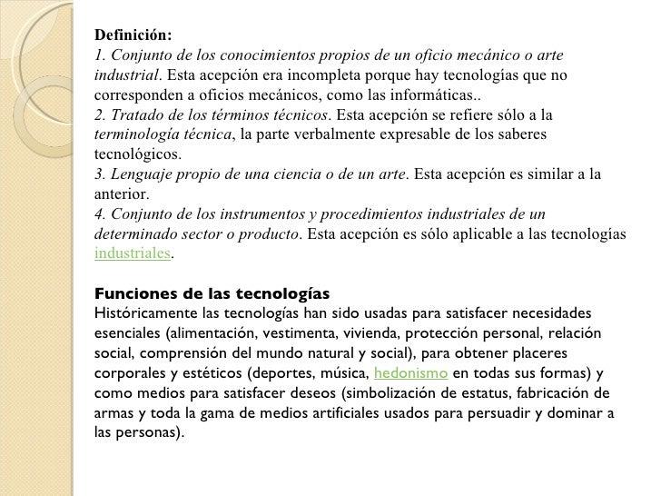 Ciencia y tecnologia for Que es tecnica de oficina wikipedia