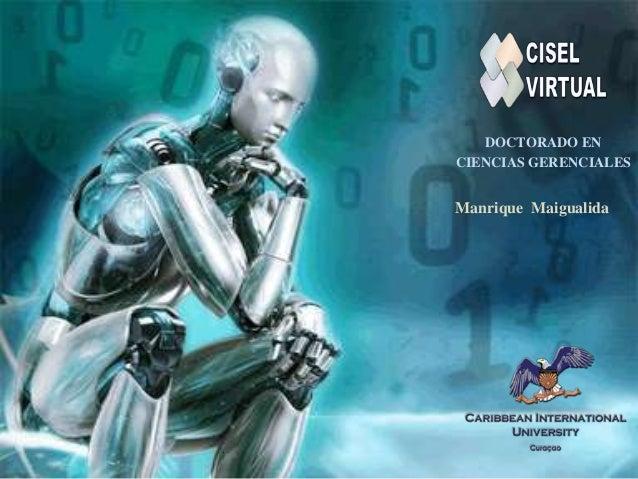 DOCTORADO EN CIENCIAS GERENCIALES  Manrique Maigualida