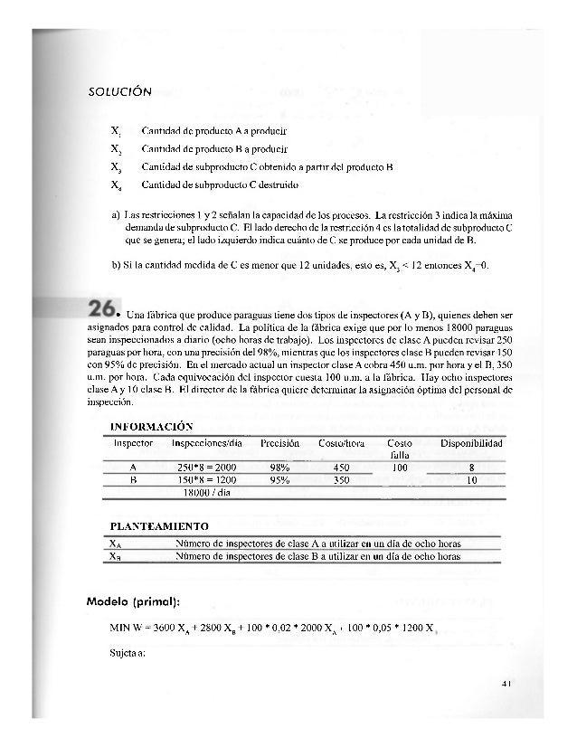 Modelo (primal): MAX Z= 1500 X. + 1000 X,A ] Sujeta a: 1. xA + 2X3 < 180 2. 2X4A + XB < 240 3. xA + XB < 1000 X A ' X B > ...